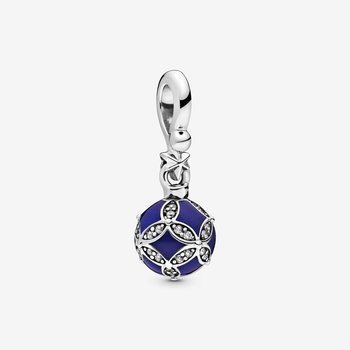 Blue Christmas Ornament Dangle Charm & Collectible Ornament - FINAL SALE