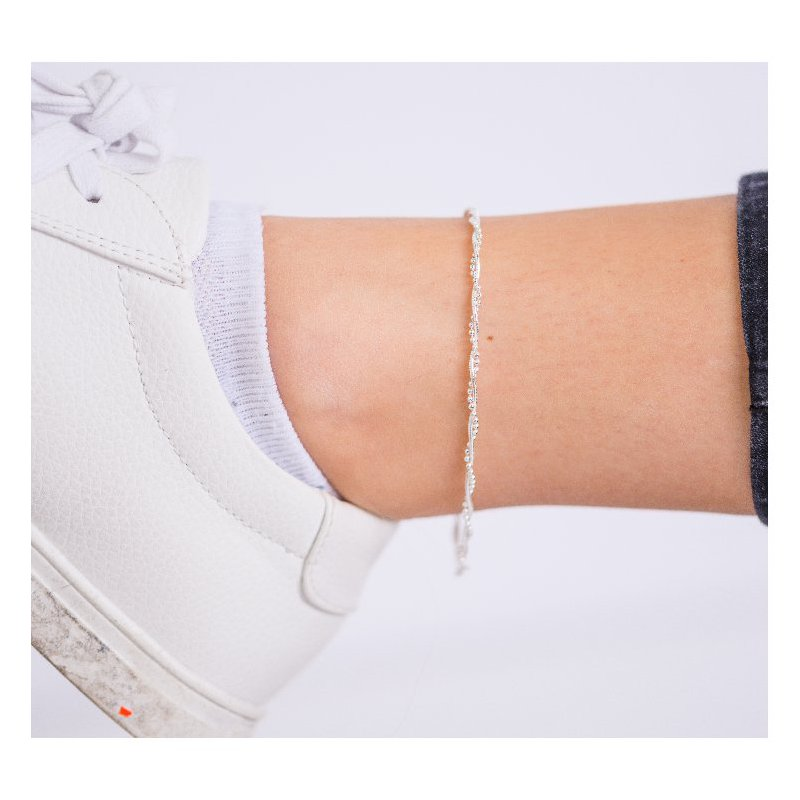 House of Jewellery SS Beaded Anklet