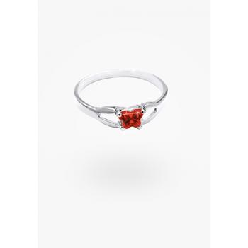 January Birthstone Ring Sz 2