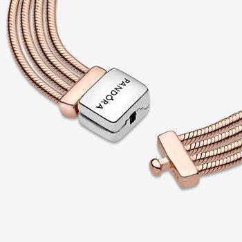 "Reflexions Multi Snake Chain Bracelet, 7.5"""