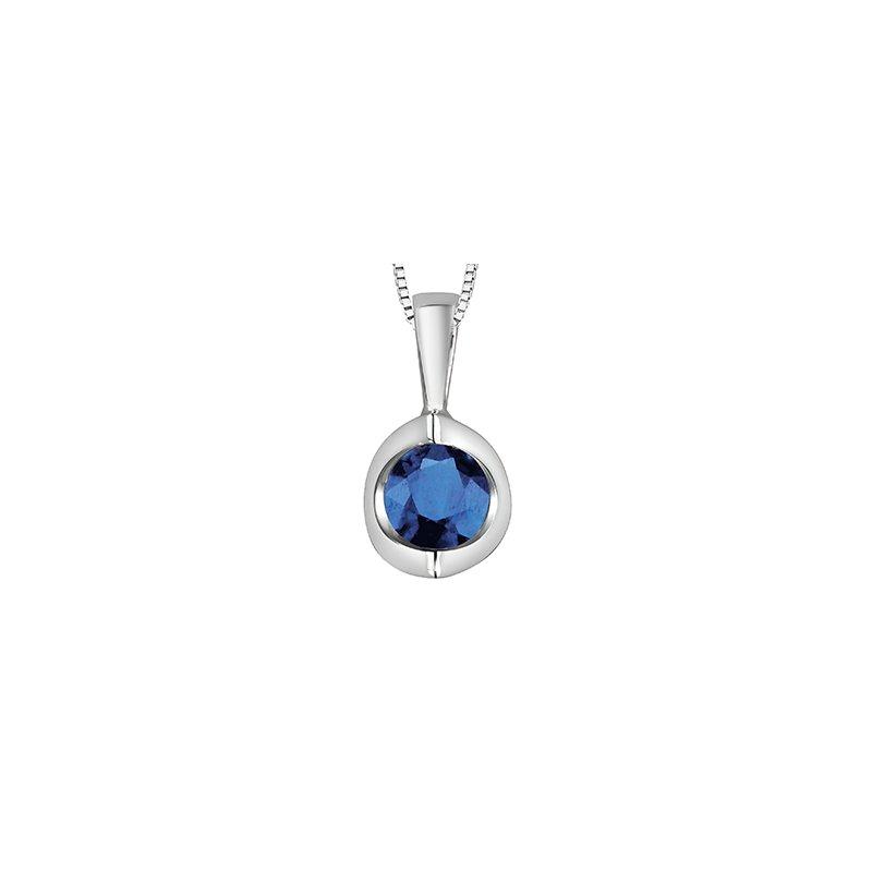 Forever Jewellery 10K Sapphire Pendant