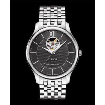 Tradition Powermatic 80 Open Heart Watch T063.907.11.058.00