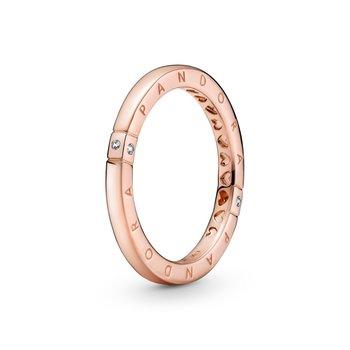 Logo & Hearts Ring, size 6.0