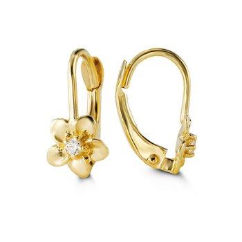 10K Euro Hook Earrings