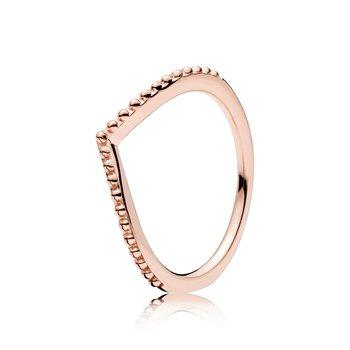 Beaded Wish Ring, size 7.5