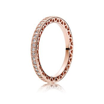 Hearts of PANDORA Ring, size 6.0