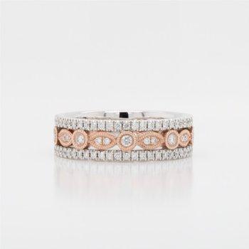Art Deco Diamond Ring, 0.38 TDW