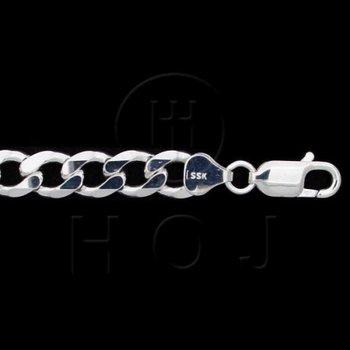 "925 Curblink Bracelet - 8"""
