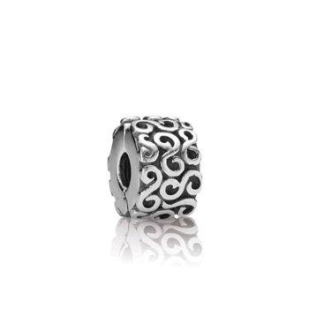 Swirl Clip Charm