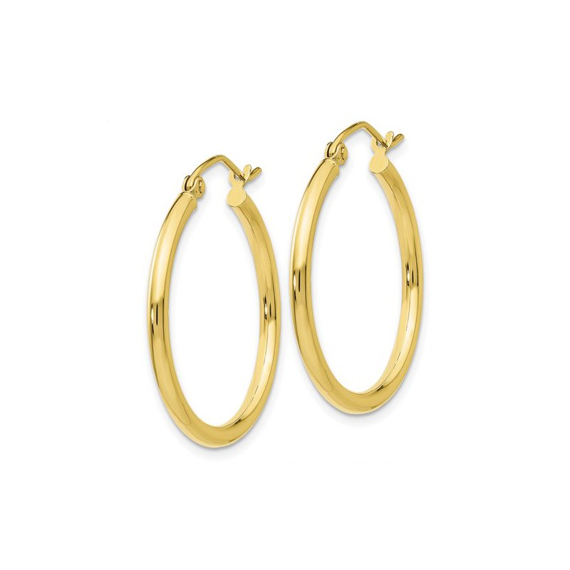 Quality Gold Yellow Gold Hoop Earrings
