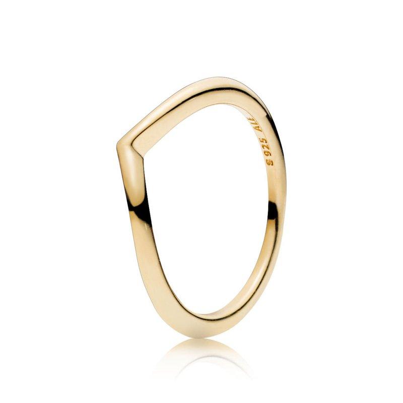 Pandora Shining Wish Ring, sz 3.5