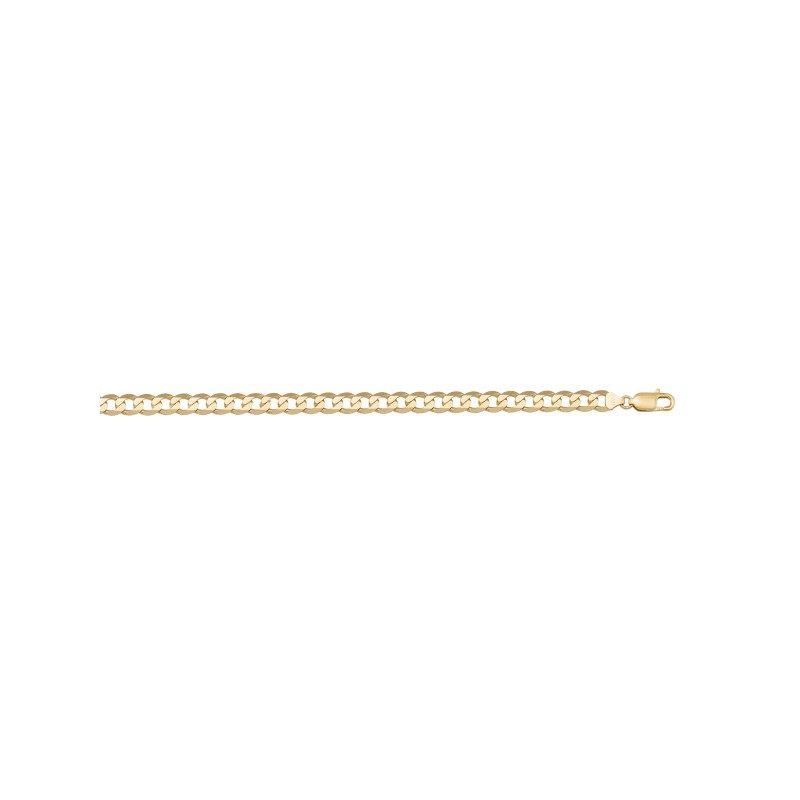 "Tecimer Jewellery 10KY Curb Link Chain - 22"""