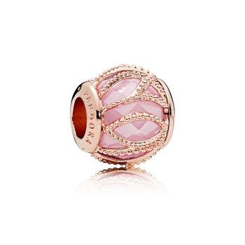 Pink Intertwining Charm