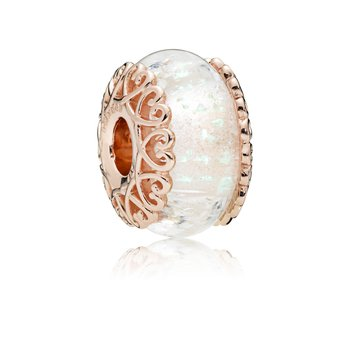 Iridescent Murano Glass Charm