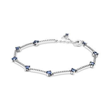 "Sparkling Pavé Bars Bracelet, 7.1"""