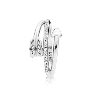 Wrap-Around Arrow Ring, size 8.5