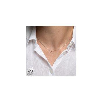 10K Heart Diamond Pendant