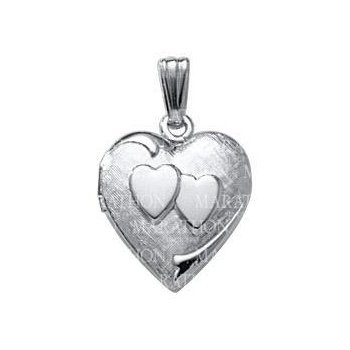 """Heart Shaped Locket- 18"""""""
