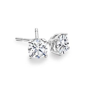 Diamond Stud Earrings 0.10tcw