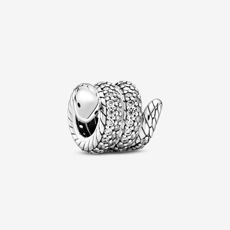 Pandora Sparkling Wrapped Snake Charm