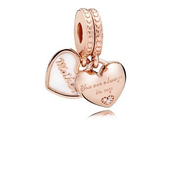 You're Always in My Heart Dangle Charm