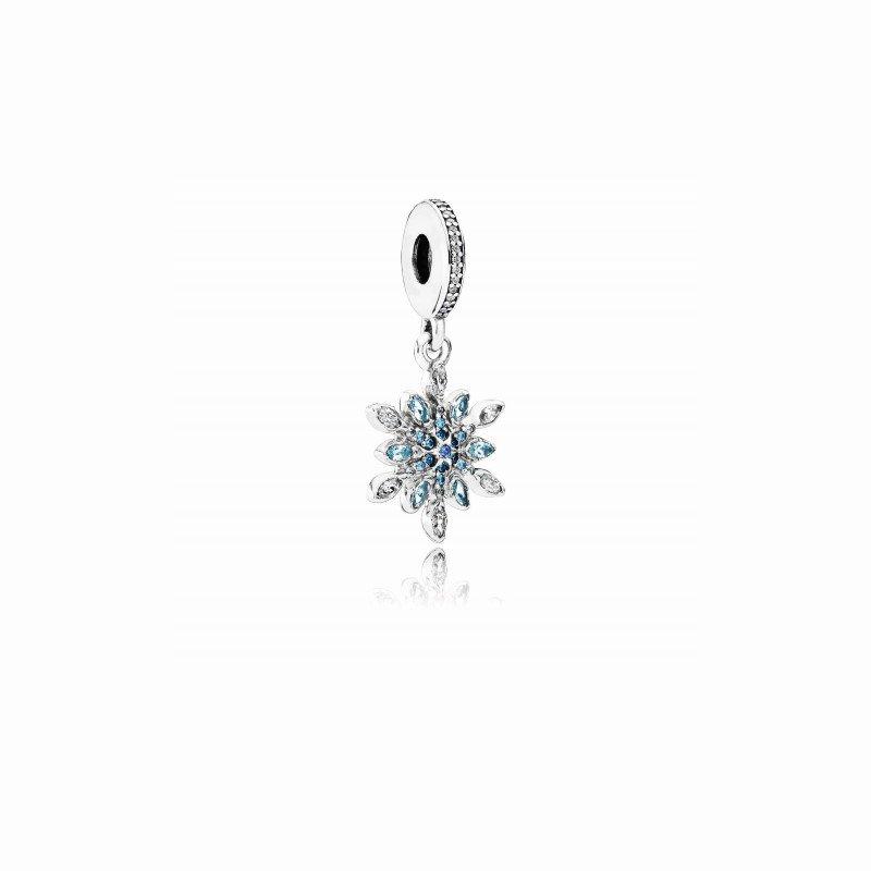 Pandora Shimmering Snowflake Dangle Charm