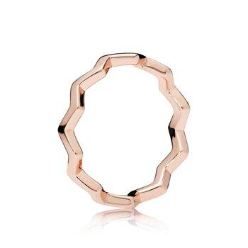 Timeless Zig Zag Ring, size 7.0 - FINAL SALE