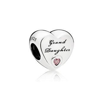 Granddaughter Heart Charm