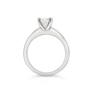 14K Canadian Diamond Solitaire Engagement Ring, 1.04 TDW