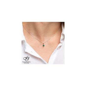 10K Emerald Pendant