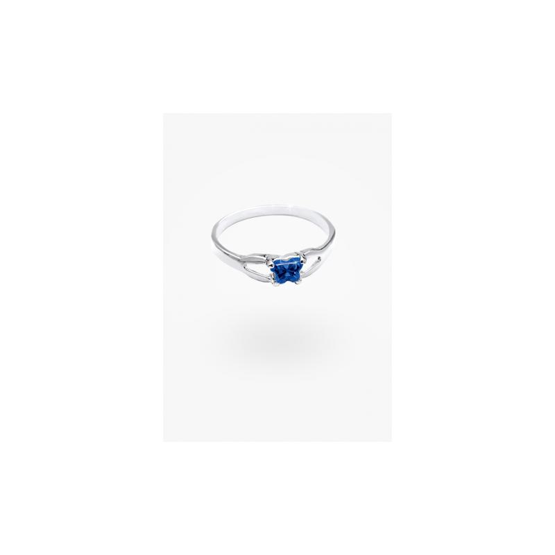 Bfly September Birthstone Ring Sz 2