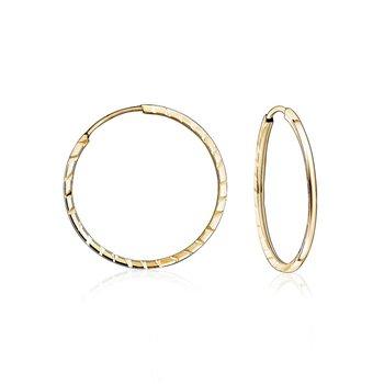10k Sleeper Earrings