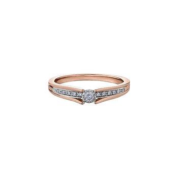 10K Promise Ring, 0.10 TDW