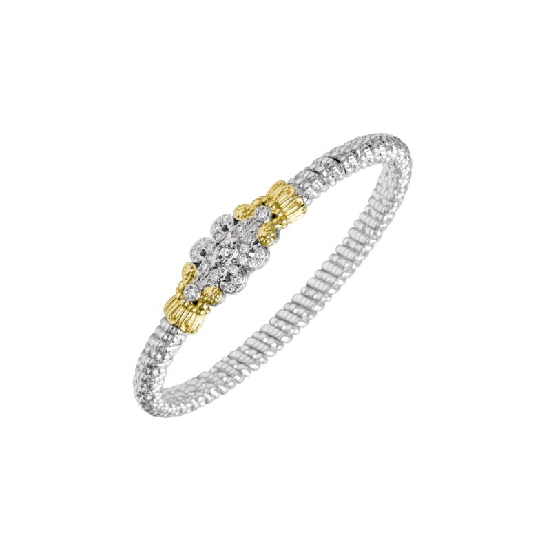 Alwand Vahan 14K Gold, Silver & Diamond Bracelet