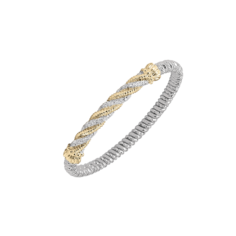 Alwand Vahan 14K Gold, Silver & Diamond Bracelet