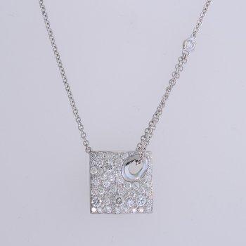 High Fashion Pave' Diamond Pendant
