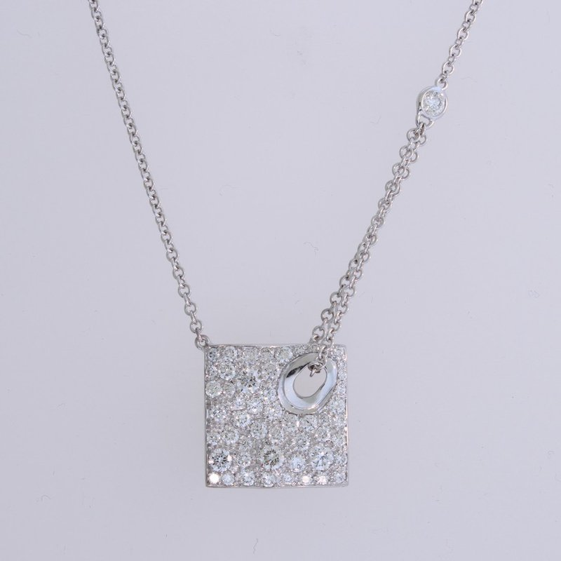Norman Covan High Fashion Pave' Diamond Pendant
