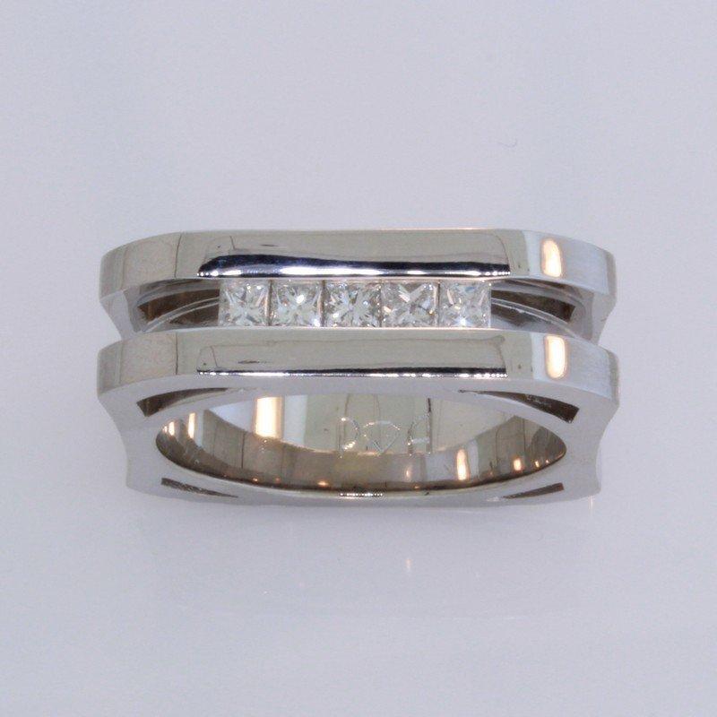 Payne Anthony Jewelers Gents Geometric Diamond Band