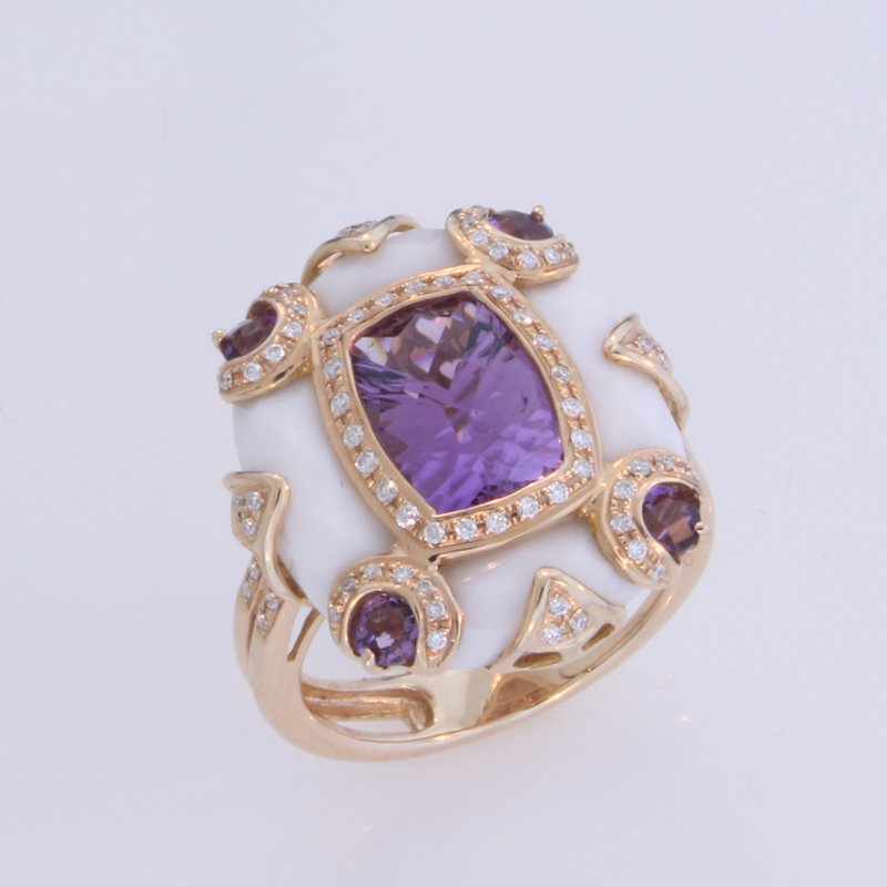 Anastasia Amethyst Ring