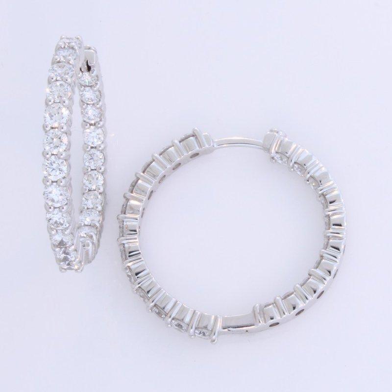 Payne Anthony Jewelers Diamond Hoop Earrings by Roberto Coin