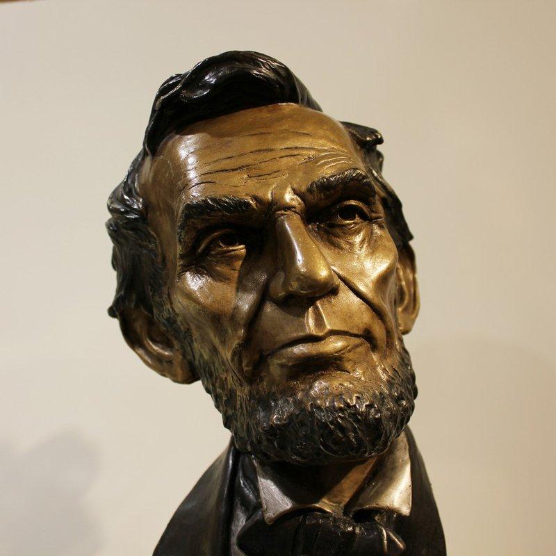 Mark Hopkins Abraham Lincoln by Mark Hopkins