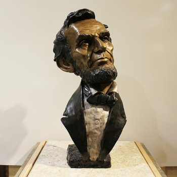 Abraham Lincoln by Mark Hopkins