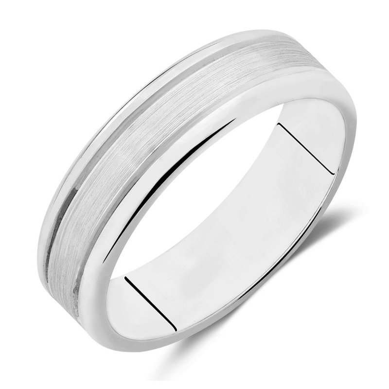 What's On Sale? Cobalt Rimmed Satin Finish Band