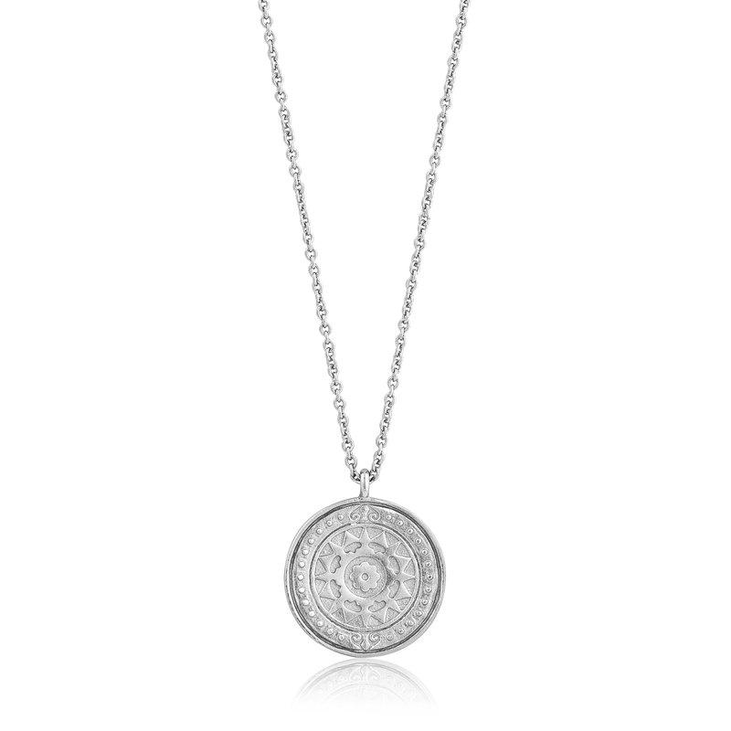 ANIA HAIE Silver Verginia Sun Necklace