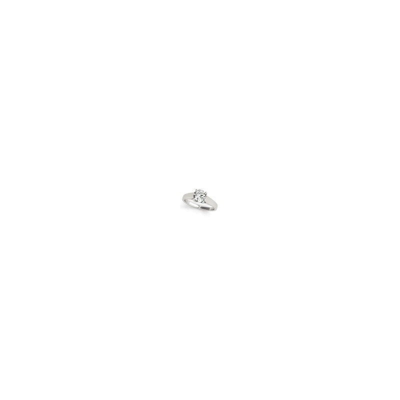 Showcase Collection 14KW Solitaire Engagement Ring Mount