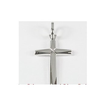 10KW Polished Cross Pendant