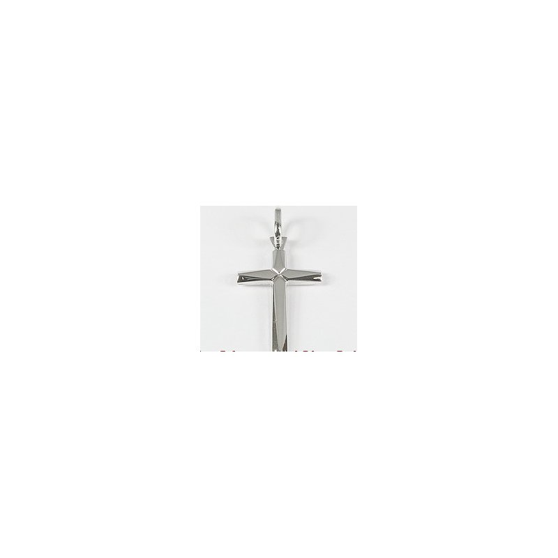 Showcase Collection 10KW Polished Cross Pendant