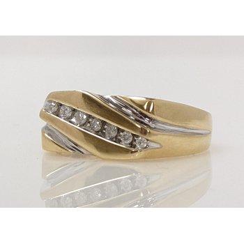 10KY Diamond Ring