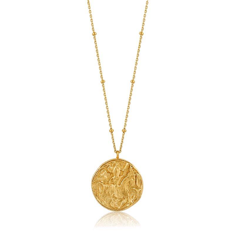 "ANIA HAIE 14k Platedf Greek Warrior Necklace 31"""
