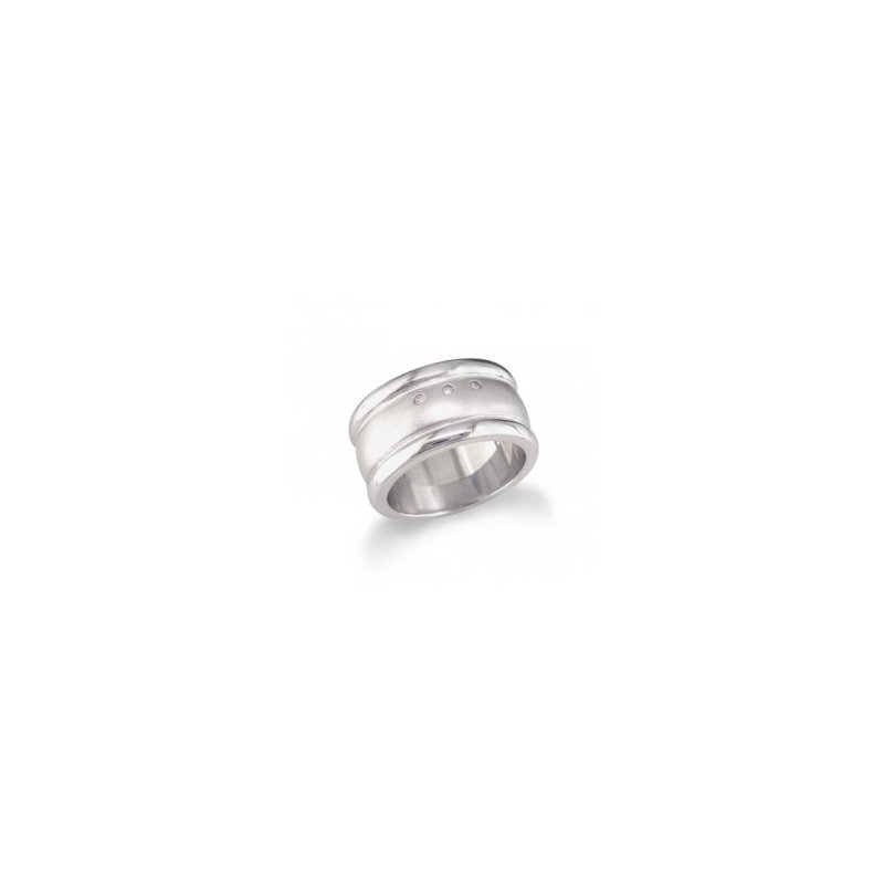 What's On Sale? Sterling Silver Ring with diamonds